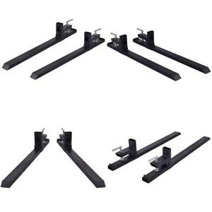 4000 Lbs Capacity Clamp On Pallet Forks Skidsteer Tractor Chain