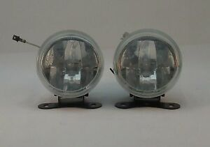 2x 3 Round Fog Driving Back Lights Lamp For Car Truck Suv Front Bumper Bulb