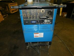 Miller Syncrowave 250 Tig Welder Ac dc Welding Power Source
