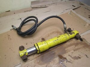 Used Snow Plow Pump Meyers Fisher Western Lift Angle Ram Cylinder Core Rebuild