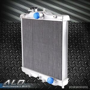 For Eg Ek Civic del Sol Integra B16a b18c 92 00 Performance Aluminum Radiator