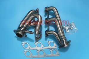 Header Exhaust For Ford Mustang 05 10 4 0 V6 Shorty Stainless Performance Pair