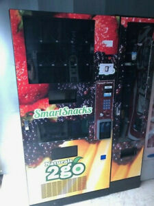 Brand New Naturals 2 Go N2g Combo Vending Machine Snacks And Sodas Nib Airvend