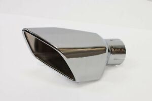 2011 2012 Ford Mustang Gt Shelby Gt500 Roush Right Hand Square Exhaust Tip
