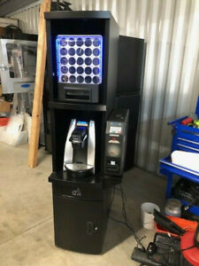 Keurig K cup Coffee Vending Machine With Vending Unit Cabinet And B200 Brewer