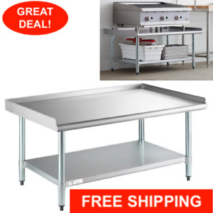 30 X 48 Stainless Steel Table Commercial Mixer Grill Heavy Equipment Stand