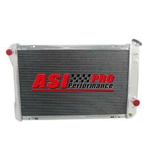 4 Row Aluminum Radiator For 82 92 Chevy Camaro Pontiac Firebird 5 0l 5 7l V8 Pro