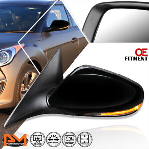 For 12 14 Hyundai Veloster Oe Style Power heated turn Signal Side Mirror Left