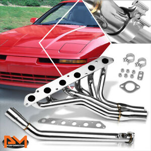 For 86 92 Supra 3 0 Non Turbo T304 Stainless Steel 6 2 1 Exhaust Header Manifold