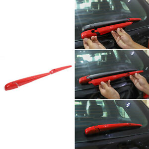 Rear Window Wiper Cover Trim For Jeep Grand Cherokee 2011 2019 Accessories Red
