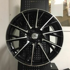 19 Black Rcf F Sport Rims Wheels 5x100 Fits Toyota Matrix Prius