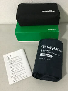 Welch Allyn 2102 Sphygmomanometer Adult Large 2 Tube With Case New In Box