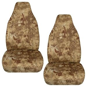 Made To Fit 1991 2001 Ford Explorer Front Set Car Seat Covers Camouflage Design
