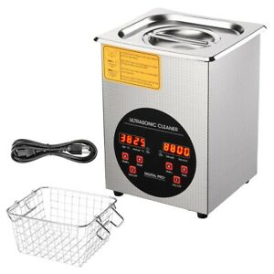 2l 280w Digital Ultrasonic Cleaner Commercial Industry Heater Tank Digital Timer