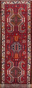 Excellent Geometric South Western Ardebil 15 Ft Long Runner Rug 14 8 X 3 7