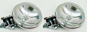 3 5 Chrome Metal Housing 55 Watt Halogen Driving Spot Lights Truck Car Suv Hn
