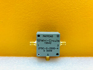 Mini circuits Zfsc 2 2500 10 To 2500mhz Sma f 2 way 0 Power Splitter Combiner