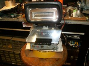 Rare 1969 Ford Galaxie Ltd Am Stereo Radio With Factory 8 Track Player Unit