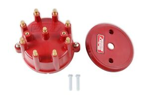 Mallory 208m Mallory Cap High Energy 8 cylinder Distributor Screw Down
