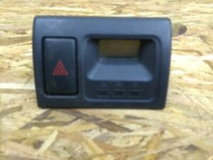 98 99 00 01 02 Honda Accord Dashboard Dash Clock Hazards Black Oem 3970a a200
