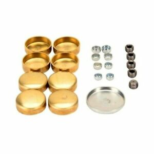 Pioneer Pe 100 br Brass Freeze Frost Expansion Plug Kit Sbc Sb Chevy 283 327 350
