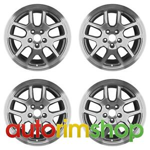 Ford Mustang Shelby Gt500 2007 2009 18 Factory Oem Svt Wheels Rims Set