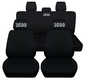 Custsomized Truck Seat Covers Fits 2010 2020 Dodge Ram 1500 Embroidered Abf