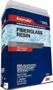 Bondo Fiberglass Resin 20124 0 9 Gallon