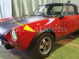 Fiat 124 Spider Abarth Group 3 Fender Flares New