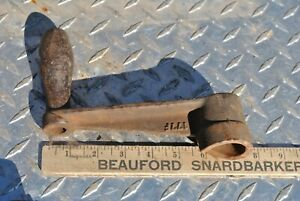 Rare Original Economy Hercules Hit Miss Gas Engine Cast Iron Hand Crank