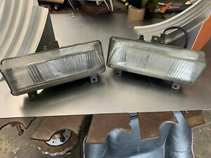 1988 1992 Alfa Romeo Oem Left And Right Fog Light Assemblies Carello 02 815 748