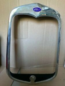 Model A Ford Radiator Shell 0 E M 1930 Stainless Steel