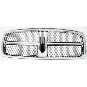 Grille For 2002 2005 Dodge Ram 1500 2003 2005 Ram 2500 Plastic