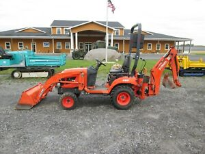 Kubota Bx25d Used Tractor Loader Backhoe 4x4 Pto 3 Pt Hitch Diesel