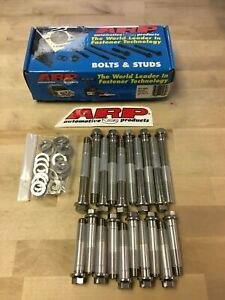 Arp Cyl Head Bolts Stainless Hex Head Ford 289 302 Stock Edelbrock Performer Rpm