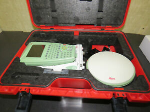 Leica 1200 Gps Survey Kit Gx1230 Atx1202 Rx1210t With Charger Kit