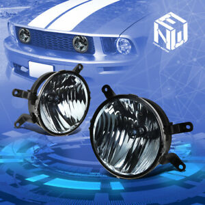 For 05 09 Ford Mustang Gt Smoked Lens Front Driving Fog Light Lamps Replacement