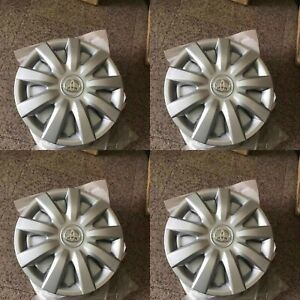 4 New Hubcap For Toyota Camry Corolla Wheel Cover 2004 2005 2006 15 Camery