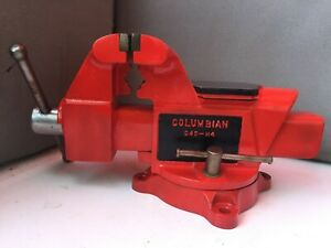 Vise columbian D45 m4 With Anvil Full Restoration