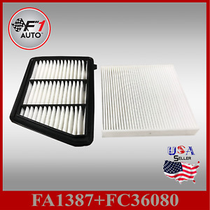 Auto1tech Engine Cabin Air Filter Fits Honda Cr V 2 4l Lx Only 2017 2019
