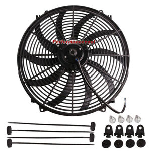 16 Electric Fan Thermostat Wiring Switch Relay Kit Radiator Engine Cooling