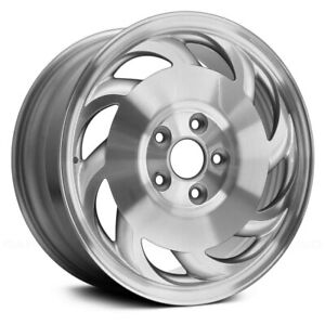 For Chevy Corvette 93 96 Alloy Factory Wheel 8 Slot Machined Lip