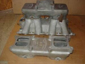 Big Block Ford 429 Cj Scj Offenhauser Tunnel Ram Aluminum Intake Manifold Boss