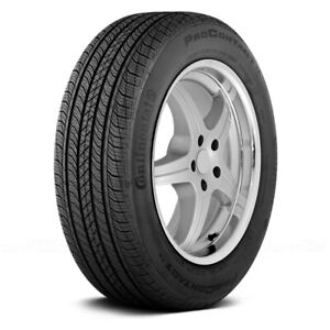 Continental Set Of 4 Tires 215 60r16 H Procontact Tx All Season Fuel Efficient