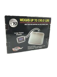 Weighmax Heavy Duty 150lb Digital Shipping Postal Scale A c Or Battery Power