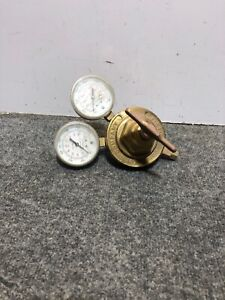 Used Rough Victor Compressed Gas Regulator Vts 450 d No Inlet Fitting