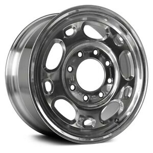 For Chevy Silverado 1500 99 10 Alloy Factory Wheel 10 Slot Bright Polished