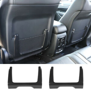Seat Back Storage Bag Trim Decor Cover For Jeep Grand Cherokee 11 Carbon Fiber
