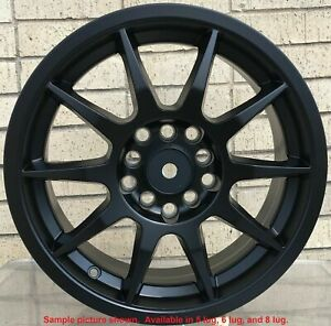 4 Wheels Rims 15 Inch For Toyota Supra Corolla Im Rav4 Camry Tacoma 2wd 309