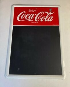 Vintage Coca Cola Restaurant Diner Menu 28x20 Metal Tin Sign Menu Chalk Board